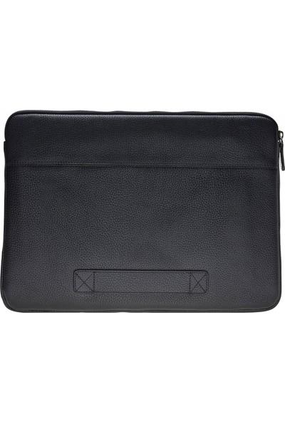 Bouletta Awe Deri Tablet Çantası 15'' - Siyah