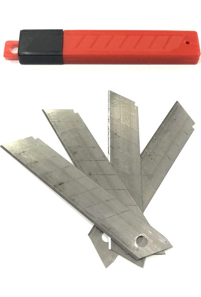 Cmc Geniş Maket Bıçağı Yedeği 10 Paket 100 Adet