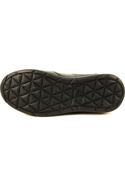 Forelli 27620 Kadın Siyah Deri Ayakkabı