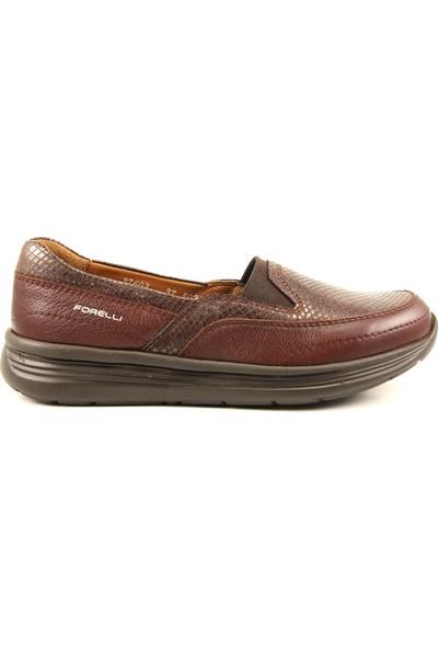 Forelli 27603 Kadın Kahverengi Günlük Ayakkabı