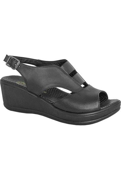 Mammamia D19Ys-1455 Deri Kadın Sandalet