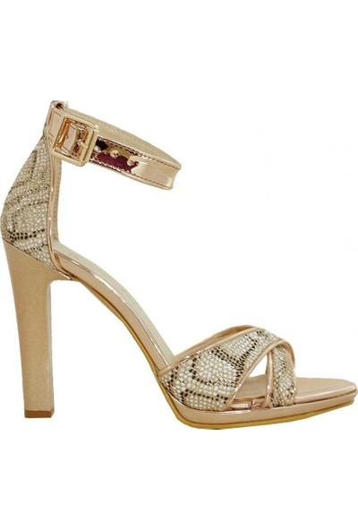 Pierre Cardin 91062 Topuklu Kadın Sandalet