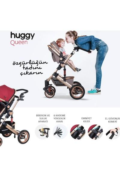 Huggy Queen 3 In 1 Travel Sistem Bebek Arabası