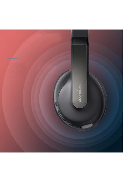 Anker Soundcore Life Q10 Kablosuz Bluetooth 5.0 Kulaklık - 60 Saate Varan Çalma Süresi - Siyah Kırmızı - A3032