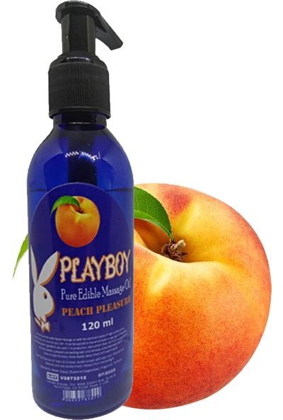 Playboy Şeftali ve Hindistancevizi Aromalı Masaj Yağı