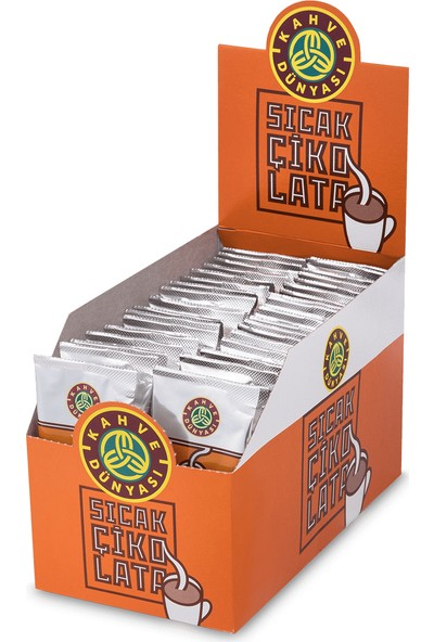 Kahve Dünyası Sıcak Çikolata Stick 40LI Paket