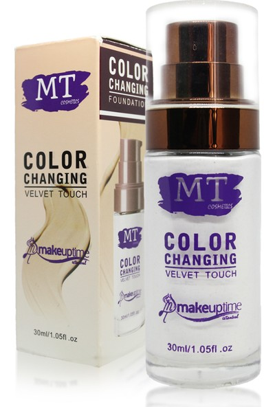 mt Color Changıng Velvet Touch Fondöten
