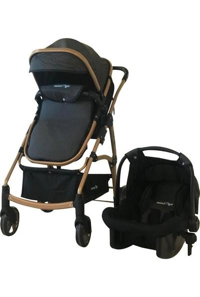 Minigo Benega Mng-40 Travel Bebek Arabası - Kahve
