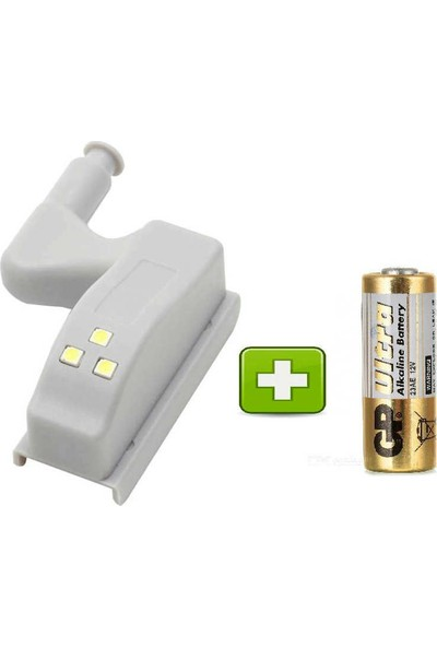 LED Dolap Içi Aydınlatma LED Işık Menteşe Üzerine Montaj Çekmece Lambası Marelli LED Pil Dahil