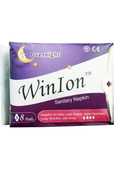 Winion Winalite Negatif Iyonlu Anion Ped. - Gece Pedi Mor