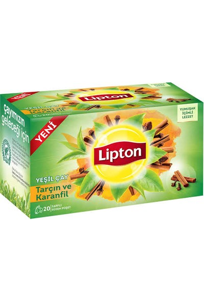Lipton Karanfil Tarçın Bardak Poşet Çay 20 li