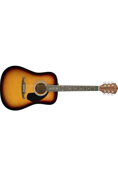 Fender FA-125 Dreadnought Sunburst Akustik Gitar