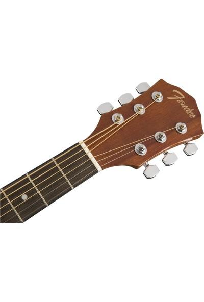 Fender FA-125 Dreadnought Natural Akustik Gitar