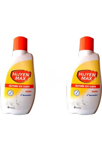 Hijyen Max 650 ml 2'li Sıvı Sabun