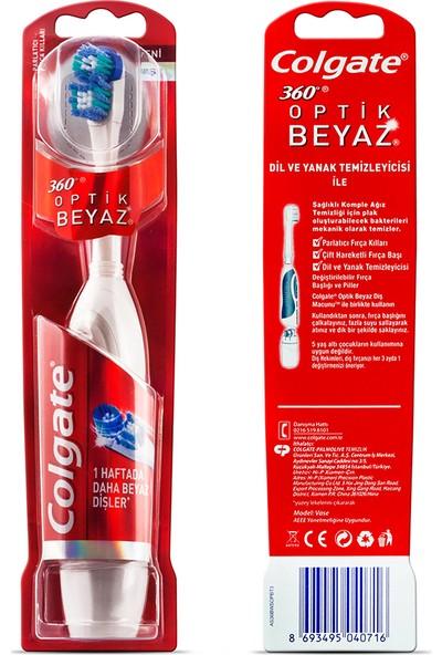 Colgate Optik Beyaz Pilli / Elektrikli Diş Fırçası