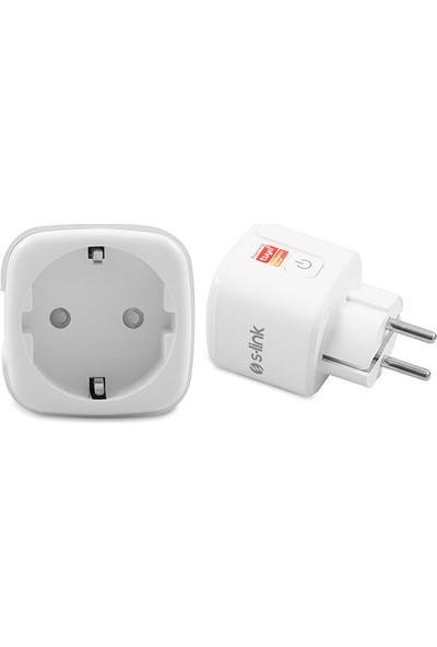 S-Link Swapp Sl-01 16A Wi-Fi Tuya Destekli Akıllı Priz