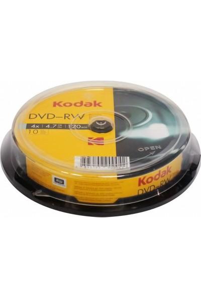 Kodak 4.7gb 4x Dvd-Rw Tekrar Yazılabilir DVD Medya - 10'lu Paket