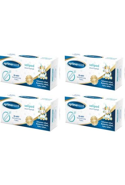 Optimanazal Serum Fizyolojik Damla 5 x 20 ml Flakon - 4'lü