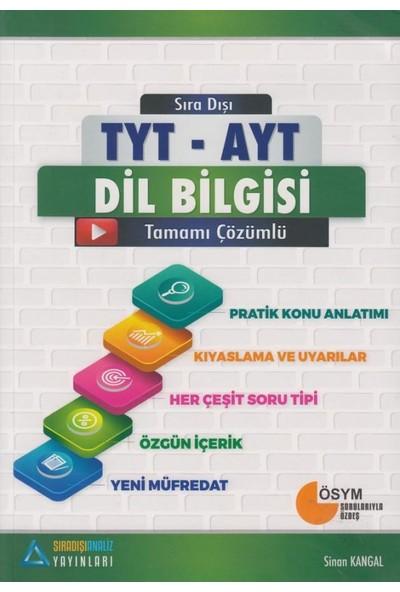 Sıradışı Analiz Yayınları TYT - AYT Dil Bilgisi