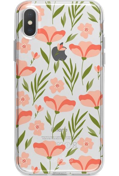 Caselab Apple iPhone X / XS Lotus Field Tasarımlı Kılıf