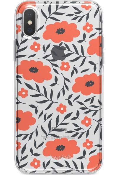 Caselab Apple iPhone X / XS Ordinary Flowers Tasarımlı Kılıf