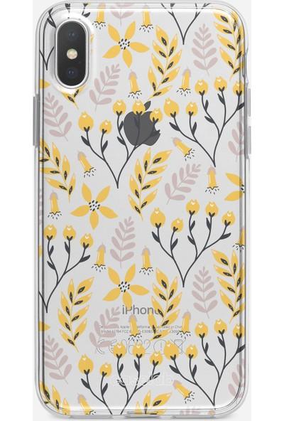 Caselab Apple iPhone X / XS Yellow Daydream Tasarımlı Kılıf