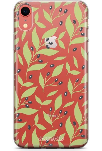 Caselab Apple iPhone XR Bloomed Olives Tasarımlı Kılıf