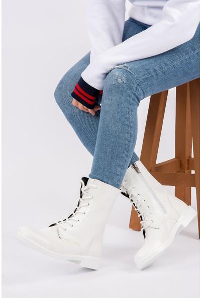 Fox Shoes Beyaz Kadın Bot G472280209