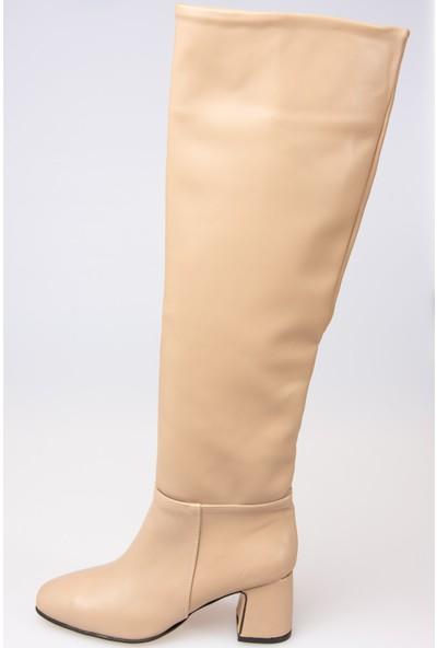 Fox Shoes Vizon Kadın Çizme G227474009