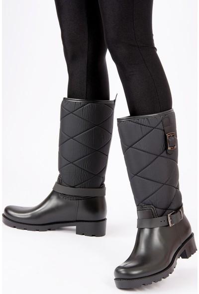Fox Shoes Siyah Kadın Çizme G476071104