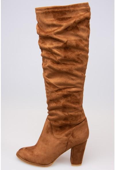 Fox Shoes Taba Kadın Çizme G572443602