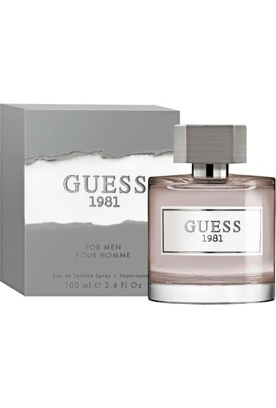Guess 1981 Men Edt 100ml
