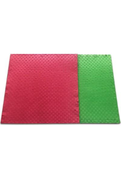 Eva Balorama Tatami Minderi Kırmızı-Yeşil 100cmx100cmx20mm