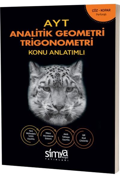 Simya Yayınları 12. Sınıf Geometri (Analitik - Geometrik - Trigonometri) AYT Konu Anlatımlı Kitap