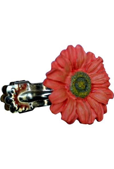 Gardinia Perde Tokası Çiçek 4'lü Paket - Dekoratif Perde Mandalı
