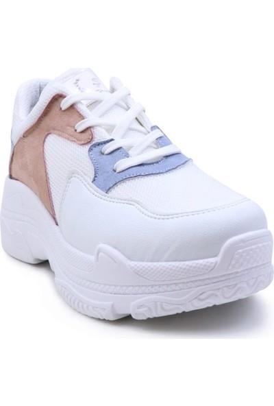 Şanzelize 10 Bağcıklı Kadın Spor Ayakkabı