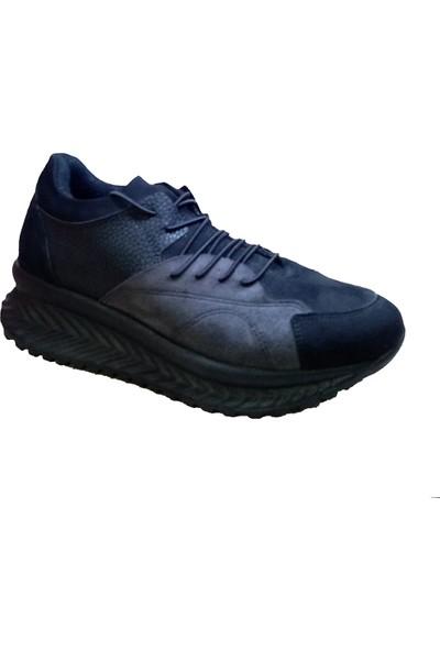 Piolin Kalın Taban Bağcıklı Kadın Spor Ayakkabı