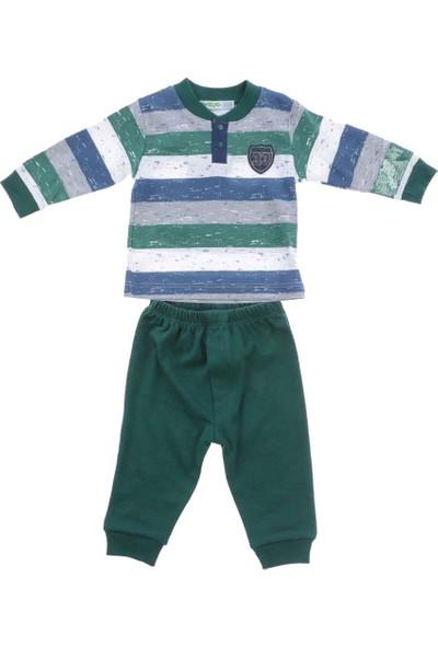Ufaklık 2327 2'Li Bebek Takım Yeşil 3 - 6 Ay
