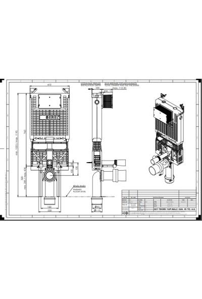 Eca Serel Gömme Rezervuar Easy 10CM T040111
