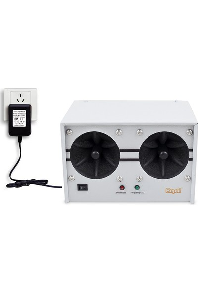 Repel End 1000 Endüstriyel Ultrasonik Fare Sıçan Yarasa Kovucu