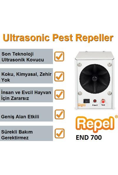 Repel End 700 Endüstriyel Ultrasonik Fare Sıçan Yarasa Kovucu
