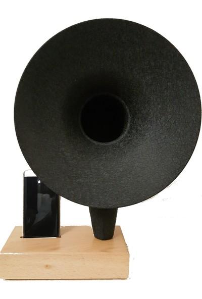 İdeal Tasarım Grammy Akustik Gramafon Müzik Aleti Dekoratif Hediyelik Eşya