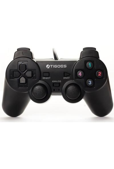 Tigoes Kablolu PC Joystick - Siyah