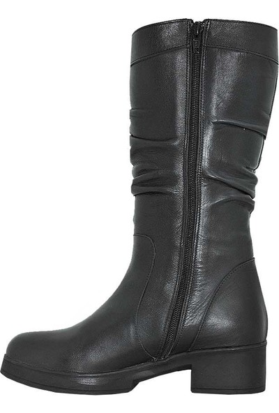 Mammamia D18Kc-2000 Deri Kadın Çizme
