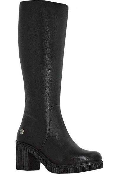 Mammamia D18Kc-2065 Deri Kadın Çizme