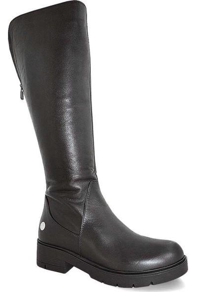 Mammamia D19Kc-2065 Deri Kadın Çizme