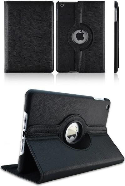 Fujimax ipad 10.2 2019 7.Nesil A2197-A2198 Seri 360 Derece Döner Tablet Kılıf-Siyah