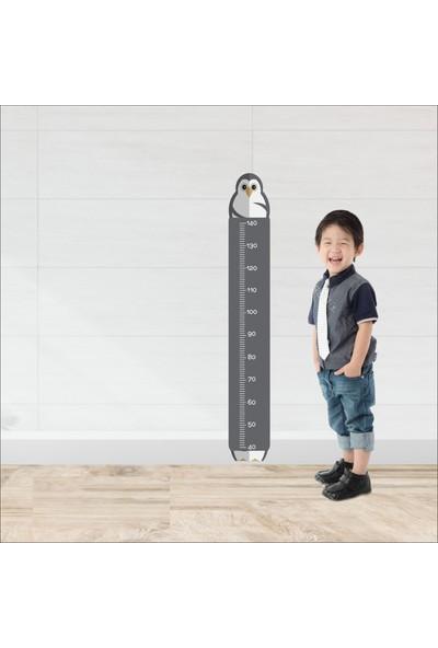 Art Point Çocuk Odası Boy Ölçer Cetveli Duvar Sticker Dekorasyon BS05