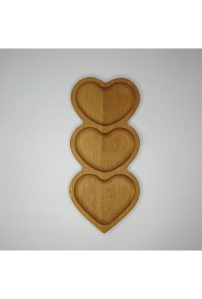 Ciciler Cuore Üçlü Kalp Çerezlik Kahvaltılık