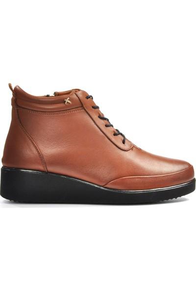 Vizon Ayakkabı Kadın Taba Bot VZN19-057K
